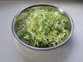Chop Cabbage