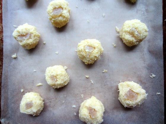 Triple Ginger Macaroons
