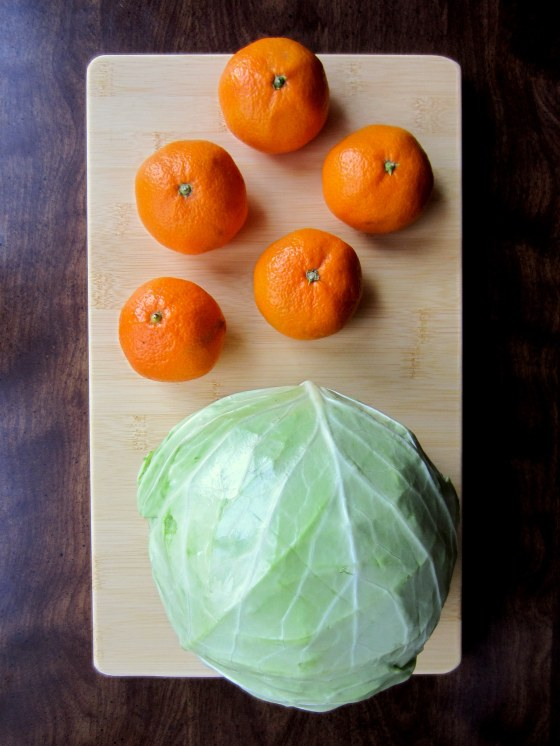 Tangerines and Cabbage